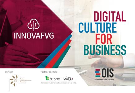 Digital Culture for Business: Innova FVG organizza seminari formativi per le aziende