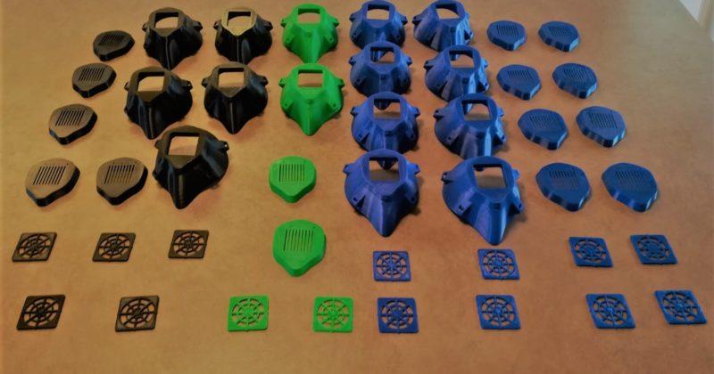 Mascherine 3D. FabLab all'opera con tre aziende